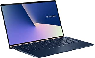 ASUS 華碩 ZenBook 14 UX433FN (90NB0JQ2-M04820) 35.5厘米 (14英寸, FHD, WV) 超極本(英特爾酷睿i7-8565U,16GB 內存,512GB SSD,NVIDIA GeForce MX150 (2GB),Windows 10) 皇家藍