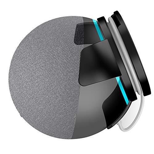Cozycase Supporto Dot 4 Generazione, accessori salvaspazio per Dot(4th Gen) con nastro adesivo e viti (Nero)
