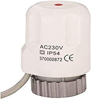 Actuator for underfloor Heating 230 V incl. Adapter VA10, fits on Beulco/Cronatherm/Kamo/Purmo/Watts/Rehau an Others/Wärme...