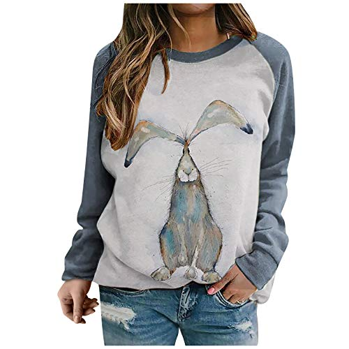 Women's Blouse, Women Lady Fashion Animal Printed Long Sleeve O-Neck Shirts Blouse Tunics Tops, Clothing for...