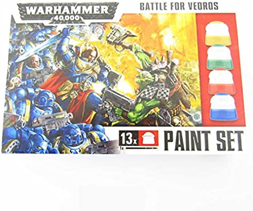 Warhammer 40,000 Battle for Vedros Paint Set by Warhammer