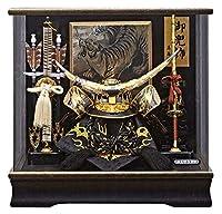 五月人形 伊達政宗 兜ケース飾り 兜飾り 藤翁作 翔竜 アクリルケース オルゴール付 h035-fn-195-701