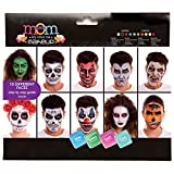 My Other Me Me-207070 Set Maquillaje Fiesta Halloween Adulto Deluxe, Talla única (Viving Costumes 207070)
