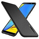 GeeMai Samsung Galaxy A7 2018 Hülle, [Schwarz Soft Hülle] Ultra Thin Silikon Schutzhülle Tasche Soft TPU Hüllen Handyhülle für Samsung Galaxy A7 2018 Smartphone