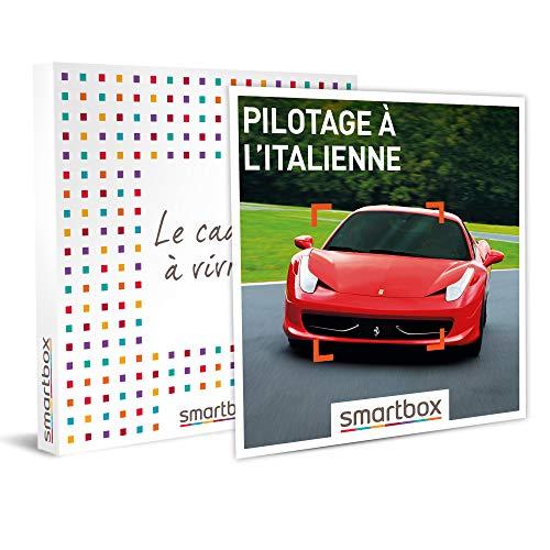 Smartbox - Coffret Cadeau Homme - Pilotage à l'italienne - idée Cadeau pour Lui - 1 Stage de Pilotage à Bord d'une Voiture Italienne pour 1 à 4 Personnes
