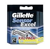 Gillette SensorExcel - Cuchillas de afeitar (20 unidades)
