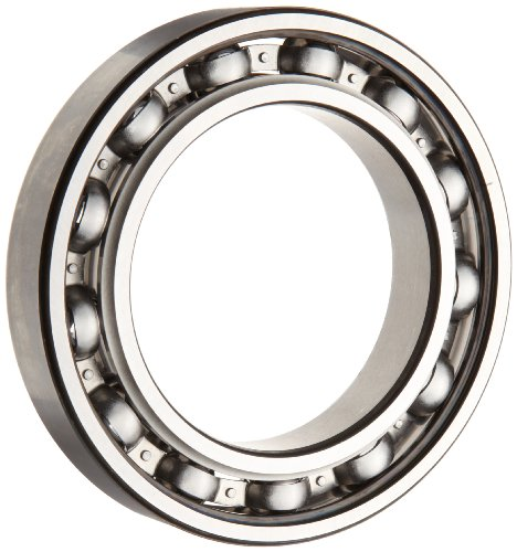 SKF 6011 JEM Deep Groove Ball Bearing, Open, Steel Cage, C3 Clearance, 55mm Bore, 90mm OD, 18mm Width, 4770lbf Static Load Capacity, 6320lbf Dynamic Load Capacity