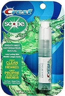 Scope Long Lasting Mint Breath Mist, 0.24oz, Pack of 6