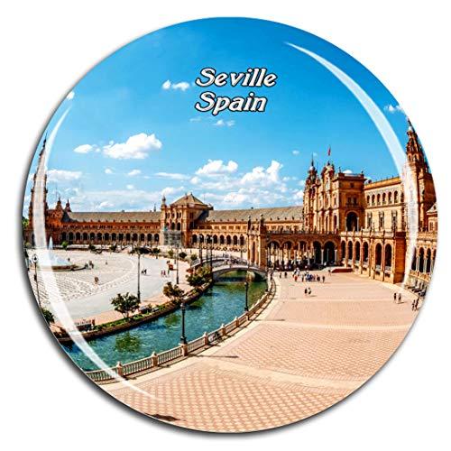 buenos comparativa Weekino Plaza dees paña Sevilla Imán para Nevera Turística de Cristal 3D Ciudad… y opiniones de 2021