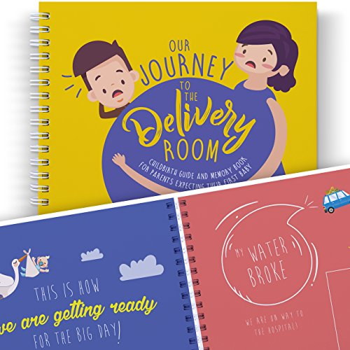 Mom to Be Journal: Our Adventure to The DELIVERY Room - A Funny Book to Treasure The Best Pregnancy Moments. Maternity Keepsakes, First Time Parents, Dad Gifts, and Baby Memory Book.