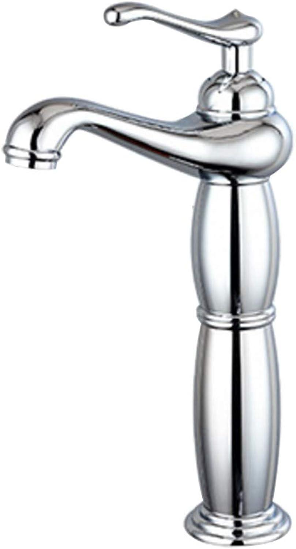 Wasserhahn Badzubehr, einfach zu bedienen und benutzerfreund, Bad Retro Heie Und Kalte Kupfer Einlochmontage Bad Becken über Gegenbecken XIAHE