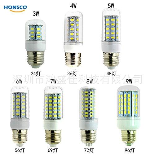 YMDPFS 10 stuks, spaarlamp maïs G9GU1024SMD36SMD48 69SMD96SMD5730SMD220V lamp
