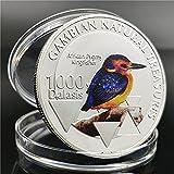 Moneda Conmemorativa de ebaywish Moneda Conmemorativa del martín Pescador Enano del Amazonas