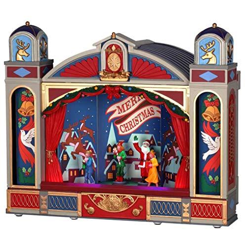 Lemax 95461 - Christmas Ballet - Weihnachtsballett - NEU 2019 - Animiert & Beleuchtet & Sound - Miniatur Weihnachtswelt/Weihnachtsdorf