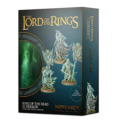 Games Workshop MIDDLE-EARTH STRATEGY BATTLE GAME: King of The Dead & HERALDS
