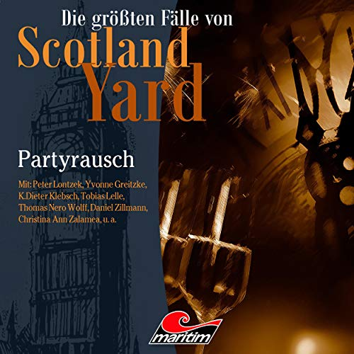 Partyrausch audiobook cover art