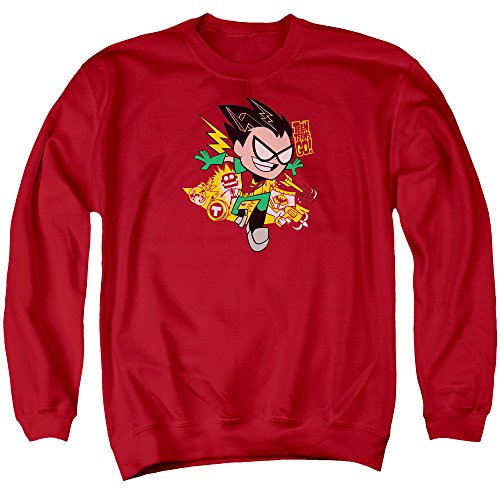 Teen Titans Go - Robin Sweater, Large, Red