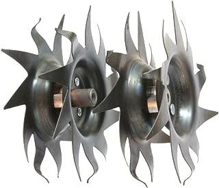 Mantis Tiller Tilling/Cultivating Tines (1 Pair) Fits All Tillers 7222, 7225,7260,7261,7262,7920,7924,7940, (Not Compatible 3550 or 3558 Tiller Models.)