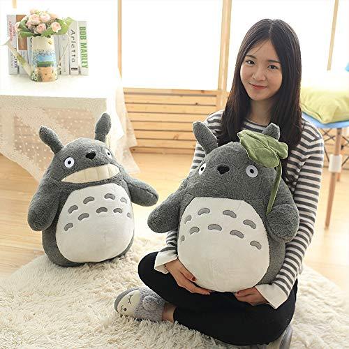 WJHW 30-70 cm Muñeca de Prensa de Boda Linda niños cumpleaños niña Niños Juguetes Totoro muñeca Gran tamaño Almohada Totoro muñeca de Juguete de Peluche,30CM