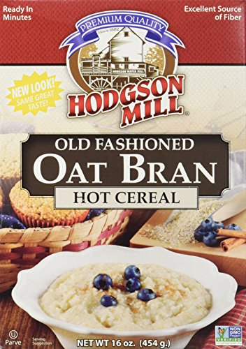 Hodgson Mill Cereal Hot Oat Bran 16 Ounce Pack of 2