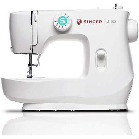 Singer M1500 Sewing Machine, 10 lbs, White