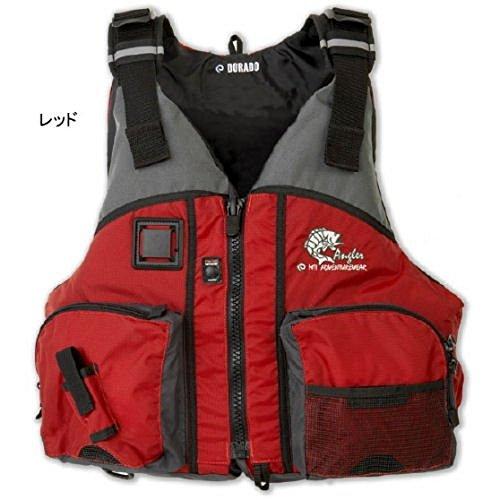 MTI(エムティーアイ) ライフジャケット ドラド MTI-806B レッド M/L