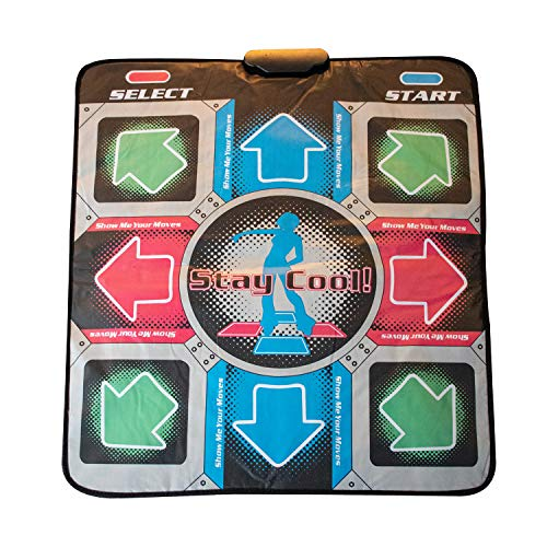 Thumbs Up OR-RETDANCEM dance pad - Dance Pads (Soft pad, Multicolor, 800 mm, 900 mm, 25 mm, 488 g) , color/modelo surtido
