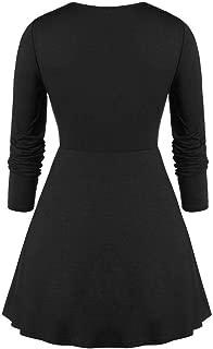 Pumpkin Skeleton Face Print Clothes Women Halloween Shantou Plus Size Sweetheart Collar Skull Print Tunic T Shirt