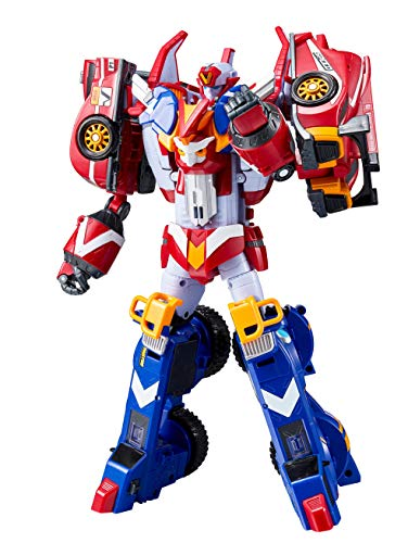 Tobot GD Master V, Youngtoys Car Transforming Collectible Car to Robot Animation Character