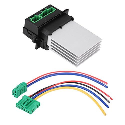Resistencia de motor del soplador, resistencia para ventilador de motor del calentador, con cableado 6441L2, 6441.L2, 7701048390, 7701207718, 509355