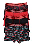 Icool™ Performance Boys Underwear - Boxer Briefs 4-Pack Size XL (16) Red