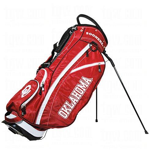 NCAA Oklahoma Sooners Fairway Stand Golf Bag