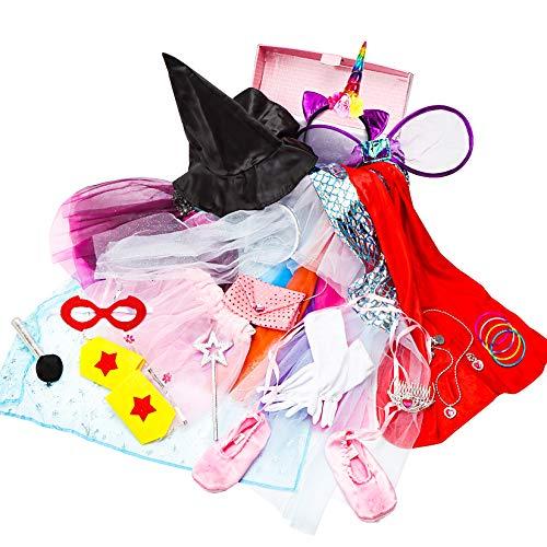 Toiijoy Girls Dress up Trunk