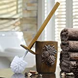 WANDOM American Creative Long-Handle Toilet Brush No Niches Toilet Soft Bristle Clean Toilet Brush Toilet Pine Nuts Toilet Brushy13-Dj3642111012