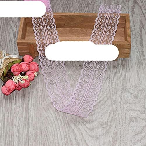 ?Nuevo!?wholesale 5-10 yardas de hermosa cinta de encaje, 45 mm de ancho, joyer¨ªa de bricolaje, ropa, boda, accesorios florales, rosa, 5 yardas