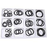 Aerzetix - Assortimento di 50 guarnizioni di gomma anelli per rubinetteria .