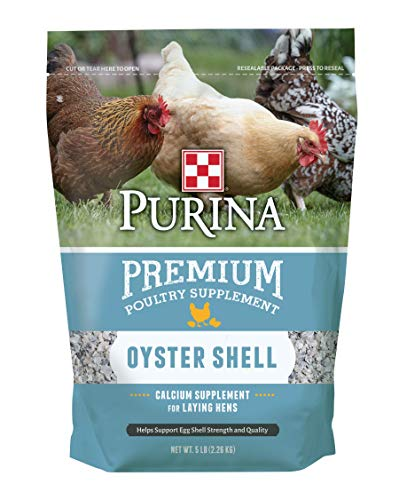 Purina Oyster Shell Poultry Supplement, 5 lb bag
