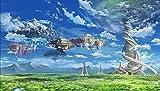 XIANGJING 1000 Piezas Rompecabezas Póster Sword Art Domain Anime Puzzle Adultos, Rompecabezas para Niños,Decorativo Juguetes Educativos Juego Regalo