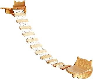 Here&There Wall Wood Cat Climber Cloud Shelf Board Mounted Cat Perch Kitten Climber Tree,Cat Ladder
