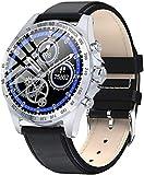 Reloj inteligente KW09 hombres s reloj electrónico 2020 regalo fitness pulsera presión arterial inteligente smartwatch Android Ios-C