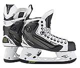 CCM Ribcor 50K patines de hockey sobre hielo, color blanco [Senior], D