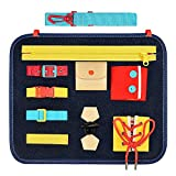 superwinky Toddler Busy Board, Montessori Toys for 1-2 Year Old Preschool ABC Learning Toys for Toddlers 1-3 Educational Travel Toys for 1 Year Old Birthday Gifts for 1-3 Year Old Boy Girl
