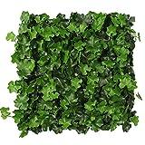 WAA Simulazione Pianta Muro Balcone Plastica Pianta Verde Muro Begonia Foglia Prato Fiore Appeso A Parete Decorazione Porta Testa Balcone Coperto Tappeto Erboso