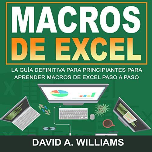Macros De Excel [Excel Macros] audiobook cover art