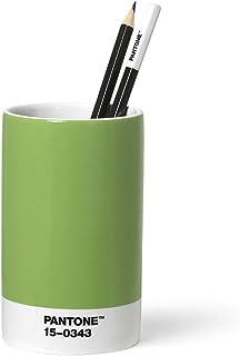 Pantone organizer biurkowy na długopisy, porcelana, Green 15-0343
