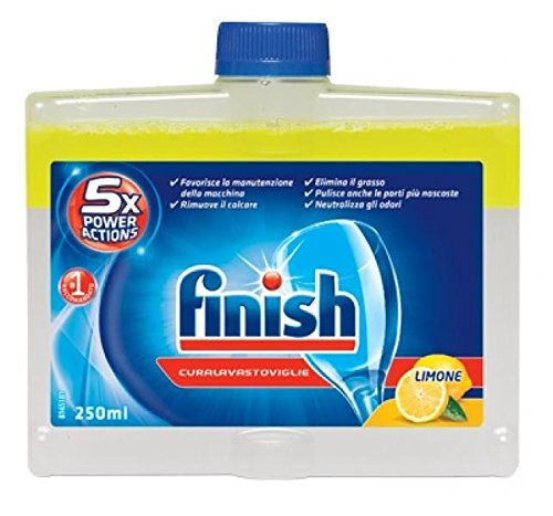 Finish Intensive - Limpiador profundo para lavavajillas Lemon 250 ml