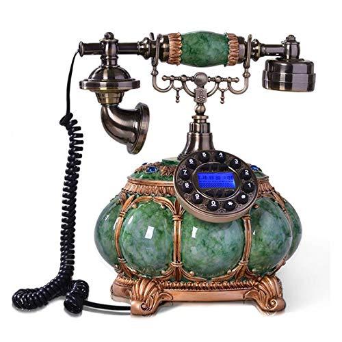 WSZMD Teléfono Pared Retro Resina Vintage Teléfonos Fijos Teléfono Fijo para La Oficina Doméstica Decoración De Teléfono Retro