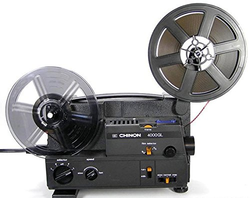 Chinon DUAL Super 8MM & 8MM Movie Projector (Type II)
