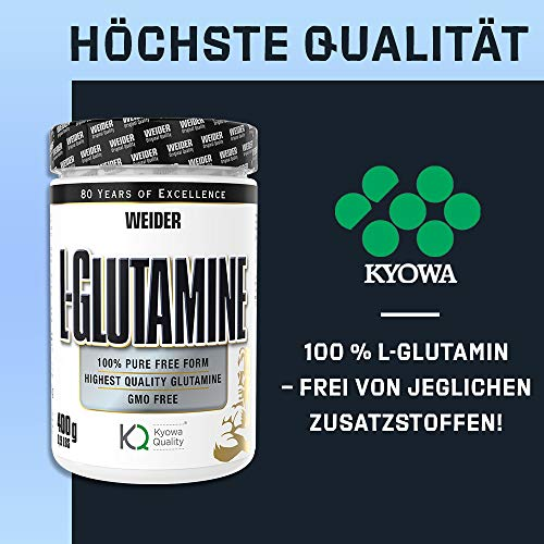 Weider L-Glutamine, 400 g - 6
