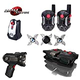 Spy Gear Sigma Mission Kit Secret Agent Tool Set 5 - Ultra Range Walkie Talkies, Voice Changer, Night Scope, Ninja Stars & Motion Alarm